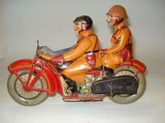 pre war Japan motorcycle toys
