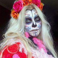 Sugar Skull MakeUp by Instagramer palepainter