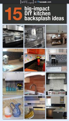 Big Impact DIY Kitchen Backsplash Ideas | Wife in Progress