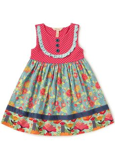 NEW Matilda Jane Field of Daisies Dress Diaper Cover sz 1 2 18 24 months