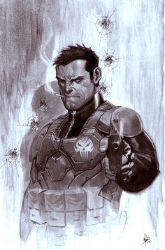 Punisher by Jorge Molina