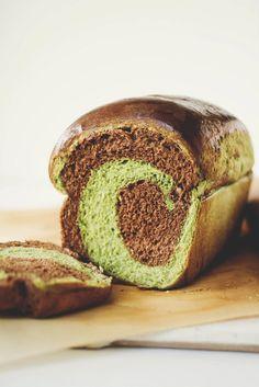 Une-deux senses: Matcha & Chocolate Swirl Milk Bread + The Original Milk Bread + Other Variations