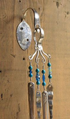 silverware wind chime by heartcreations on Etsy | Craft Ideas