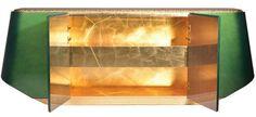 Emerald cabinet with golden interior | www.bocadolobo.com #luxuryfurniture #livingroomideas #furnitureinspirations #cabinetdesign
