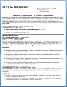 CPA Resume Sample Entry Level