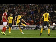Xhaka Goal 1-0 Arsenal vs Nottingham Forest - YouTube