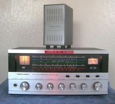 Realistic Radio Shack DX-160  Shortwave Communications Receiver + O/Speaker ~@@~ #RadioShack
