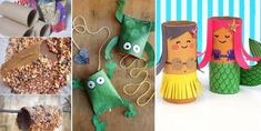 Ideas for everyone! Toilet Paper Roll Crafts, Paper Crafts For Kids, Spiderman Craft, Cardboard Rolls, Diy Barbie Clothes, Christmas Stockings, Christmas Ornaments, Polymer Clay Projects, Creative Inspiration