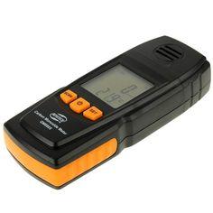 BENETECH GM8805 LCD Display Handheld Carbon Monoxide CO Monitor Detector Meter Tester, Measure Range: 0-1000ppm(Black)