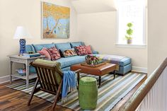 Pajama Lounge Room - A living room has to be welcoming for you as well as your visitors. Your living room takes up numerous distinct roles which necessitates challenging d. by Joey Classic White Kitchen, Southern Living Homes, Upstairs Bedroom, Room Set, Home Collections, Living Spaces, Living Rooms, Family Room, House Design