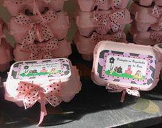 caixa ovo fazendinha rosa e marrom
