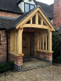 Industrious staffed entry porch design click this site Front Door Porch, Porch Roof, Front Doors, Front Porches, Porch Gable, Porch Entrance, Entrance Doors, Front Entry, Porch Canopy
