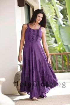 Shop Riona Corset Peasant Maxi Sun Dress In Purple Passion: http://holyclothing.com/index.php/riona-bustier-corset-empire-gypsy-peasant-boho-maxi-sun-dress.html From $37.99. Repins are always appreciated :) #holyclothing #fashion