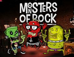 """Check out new work on my @Behance portfolio: """"Monsters Of Rock"""" http://be.net/gallery/32542281/Monsters-Of-Rock"""