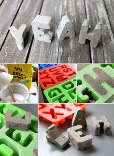 Gingered Things - DIY, Deko & Wohndesign: 3. Bloggeburtstag & euer Wunsch in Beton