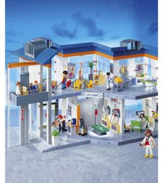 Playmobil- I want to get this for C so I can play with it!