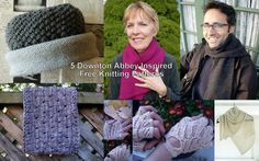 5 Downton Abbey inspired free knitting patterns.