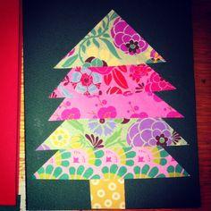 Easy Homemade christmas card