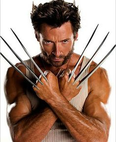 My favorite Marvel X-Man! Hugh Jackman as Wolverine. This counts because he was also Jean Valjean in Les Miserables! Hugh Jackman, Hugh Michael Jackman, Jean Valjean, X Men, Les Miserables, X23 Logan, Logan Xmen, Heroine Marvel, Hugh Wolverine
