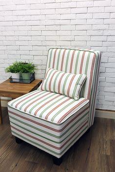 美式鄉村清新條紋主人椅 網路售價: $4900 / 日租: $980