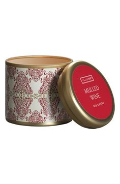 Illume 'Mini Tin - Mulled Wine' Candle available at #Nordstrom