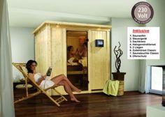 Verlegen Sie Ihren nächsten Saunagang doch einfach zu Ihnen nach Hause mit der Karibu 68 mm Sauna Daria Plug & Play. Das besondere an dieser Sauna ist der Ofen, der mit 230 Volt betrieben wird und steckerfertig ist. Dieser kann also direkt mit einer herkömmlichen Steckdose verbunden werden. https://www.plus.de/p-1275825000?RefID=SOC_pn