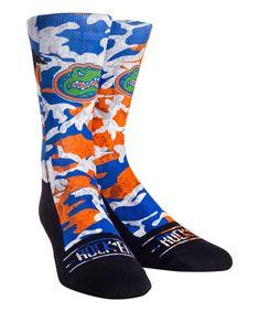 20618db70451 Rock  Em Apparel Florida Gators Camouflage Athletic Socks