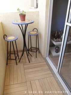 . Small Balcony Decor, Balcony Design, Interior Design Living Room, Living Room Designs, Interior Garden, Awesome Bedrooms, Small Apartments, Home Decor Accessories, Porches