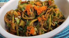 Stir Fry Zucchini Noodles (or Zoodles) are a great way of consuming a grain free meal, especially if you're on a paleo/keto diet. This recipe is delicious, nutritious and super easy to prepare Stir Fry Zucchini Noodles, Zucchini Noodle Recipes, Zucchini Fries, Good Healthy Recipes, Vegetarian Recipes, Healthy Food, Yummy Food, Primal Blueprint Recipes, Against All Grain