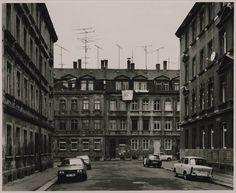 Artwork page for 'Salzmannstrasse, Leipzig Thomas Struth, 1991 City Landscape, Urban Landscape, City Photography, Landscape Photography, Chinese Landscape, Famous Photographers, Photo L, Old Buildings, Skyscraper