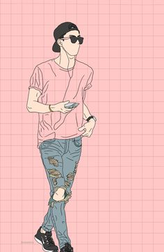 Sehun Simple Fanart l Sehun, Kpop Exo, Character Illustration, Digital Illustration, Arte Dope, Character Concept, Character Design, Exo Fan Art, E Dawn