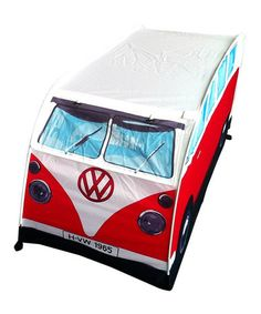 Take a look at this Red Volkswagen Play Tent by The Monster Factory on #zulily today!