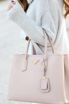Shop for Prada Bags Prada nude bag when you know it's the right bag for you . More The post Shop for Prada Bags appeared first on Design Ideas. Prada Handbags, Fashion Handbags, Purses And Handbags, Fashion Bags, Womens Fashion, Prada Purses, Fashion Jewelry, Pink Handbags, Stylish Jewelry