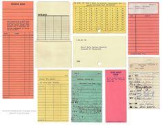 old library cards Layout Design, Print Design, Logo Design, Handwritten Text, Branding, Vintage Graphic Design, Vintage Ephemera, Grafik Design, Identity Design