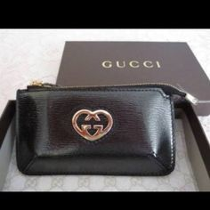 New in box Gucci keychain change purse. Black Brand New Authentic Gucci change purse keychain combination. Black. Gucci style number is 338193. No Trades. No PayPal. HOST PICK!! SO EXCITED!! Gucci Bags Mini Bags