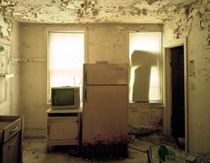 """Jeffrey Stockbridge's Photograph from his """"Abandoned"""" project."""