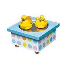 Original Trousselier Paris – Caja de música para bebé Duck (Trousselier S95001)