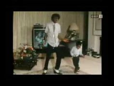 Rare Michael Jackson 1984 dancing footage. ~I think this is a very young Emanuel Lewis dancing with MJ. ~NK~