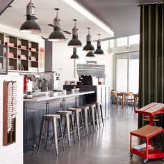 Kaper Design; Restaurant & Hospitality Design: West Egg Cafe