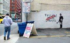im dying to see some banksy art in real life! Graffiti Girl, Graffiti Tattoo, Street Art Graffiti, Bristol, Banksy Artwork, Fb Like, Bansky, Outdoor Art, Street Artists