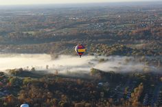 On this day in 1793, Jean-Pierre Blanchard made the first successful balloon flight in the U.S. DYK you can take a hot air balloon ride in Ohio's Largest Playground at Gentle Breeze Hot Air Balloon Company Ltd and Bella Balloons Hot Air Balloon Company???