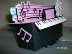 Piano Box Card