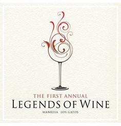 Legends of Wine logo Wine Design, Bottle Design, Logo Design, Graphic Design, Wine Tattoo, Wine Logo, Examples Of Logos, Wine Painting, Wine Photography