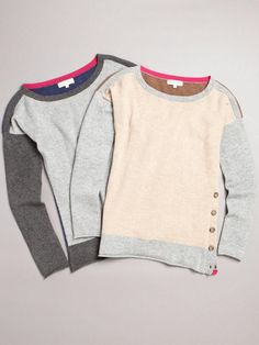 Luxe Colourblocked Pullover <3 <3