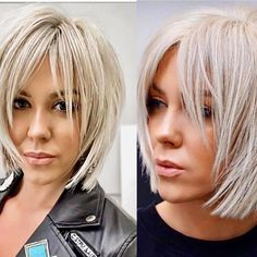 35 Chick Hairstyles For Fine Hair To Make Volume Stay Longer – Decor Haircuts For Medium Hair, Short Hair Cuts, Medium Hair Styles, Short Hair Styles, Short Bob Hairstyles, Above Shoulder Hair, Great Hair, Pretty Hairstyles, Hair Inspiration