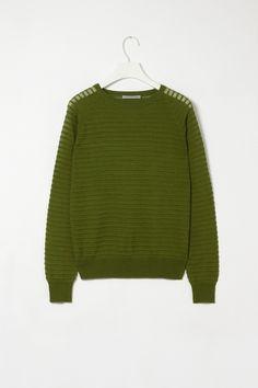 Ripple knit jumper