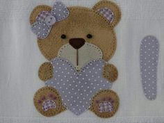 Kit Bebe, Teddy Bears, Baby Quilts, Couture, Animals, Baby Blue, Baby Layette, Towels, Crafts