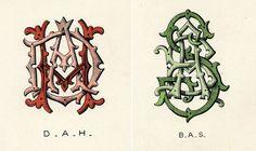 Wilkinson, Heywood and Clark Ltd Monograms 4
