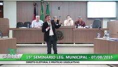 Click to View : 15º SEMINÁRIO LEGISLATIVO MUNICIPAL - Parte 1