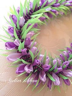 Atelier Ribbon Style*Ribbon Lei Making*
